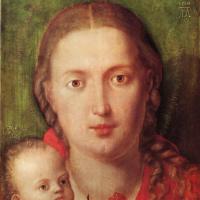 Альбрехт Дюрер. Мария с гвоздикой