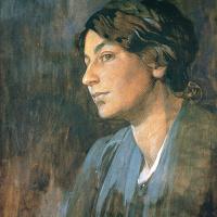 Альфонс Муха. Портрет Марушки, жены художника