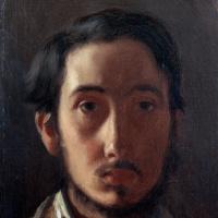 Edgar Degas. Self-portrait
