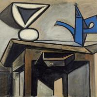 Пабло Пикассо. Натюрморт с кофейником