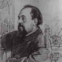 Илья Ефимович Репин. Портрет С. И. Мамонтова