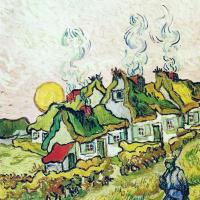 Винсент Ван Гог. Соломенные коттеджи на солнце: Воспоминание о Севере