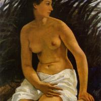Zinaida Evgenievna Serebriakova. Bather