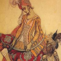 Лев Самойлович Бакст (Леон Бакст). Восточный принц и его паж