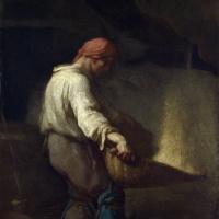 Жан-Франсуа Милле. Веялка