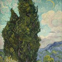 Винсент Ван Гог. Кипарисы