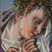Тамара Лемпицка. Цветочный венок