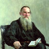 Илья Ефимович Репин. Портрет писателя Л.Н. Толстого