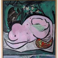 Пабло Пикассо. Голая в саду