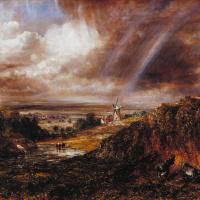 Хэмпстед-Хит с радугой