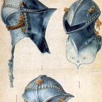 Альбрехт Дюрер. Три этюда для шлема