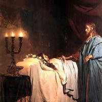 Воскрешение дочери Иаира. Фрагмент