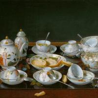 Натюрморт с чайным сервизом