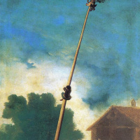 Francisco Goya. The post with the prizes