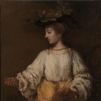 Flora (portrait of Hendrickje Stoffels)