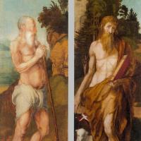 Святой Онуфрий и Иоанн Креститель
