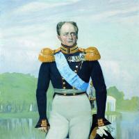 Александр І. Панно для зала офицерского собрания лейб-гвардии Финляндского полка в Петербурге