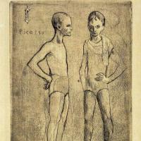 Пабло Пикассо. Два акробата