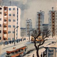 Александр Семенович Ведерников. На улице