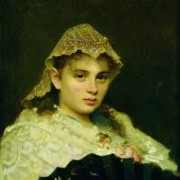 Иван Николаевич Крамской. Портрет Ольги Афанасьевны Рафтопуло