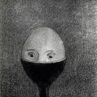 Одилон Редон. Яйцо