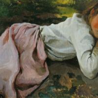 Спящая Галя