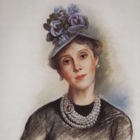 Зинаида Евгеньевна Серебрякова. Графиня Р. Зубова