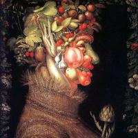 Джузеппе Арчимбольдо. Овощи и ягоды