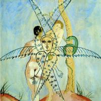 Франсис Пикабиа. Адам и Ева.