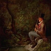 Карл Шпицвег. Рыбак в лесу