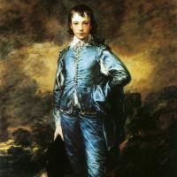 Мальчик в голубом. Портрет Джонатана Баттла