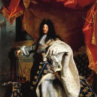 Гиацинт Риго. Портрет Людовика XIV
