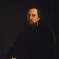 Портрет писателя М.Е. Салтыкова-Щедрина