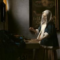 Ян Вермеер. Женщина, держащая весы