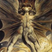 Уильям Блейк. Большой красный дракон и женщина, одетая в солнце