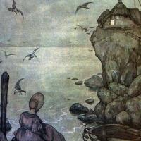Антон Пик. Сидя на берегу озера