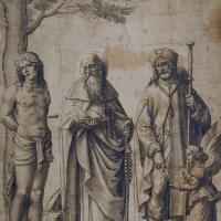 Святой Себастьян, святой Антоний и святой Рох