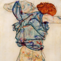 Undress woman