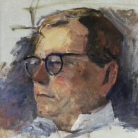Мартирос Сергеевич Сарьян. Портрет Дмитрия Шостаковича