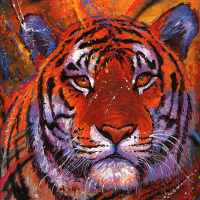 Кристиан Риес Лассен. Тигр