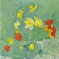 Куно Амье. Натюрморт с цветами