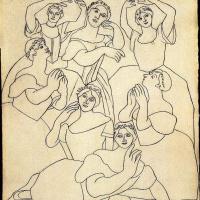 Пабло Пикассо. Семь балерин