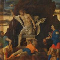 Andrea Mantegna. The Resurrection of Christ