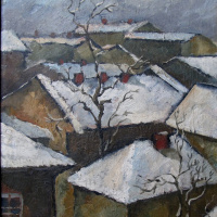 Alexander Shynin. Зимние крыши