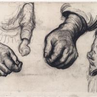 Винсент Ван Гог. Две кисти и две руки