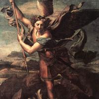 Рафаэль Санти. Святой архангел Михаил и Дьявол