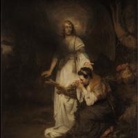Фабрициус Карел. Агарь и ангел