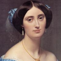 Жан Огюст Доминик Энгр. Фрагмент портрета принцессы Альберт де Бройля