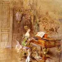 Джованни Болдини. Пианист