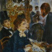 Пьер Огюст Ренуар. В кафе